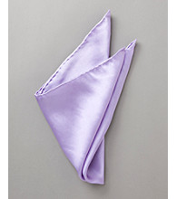 Kenneth Roberts Platinum® Men's Solid Pocket Square - Lavender