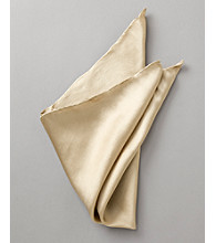 Kenneth Roberts Platinum® Men's Solid Pocket Square - Sand