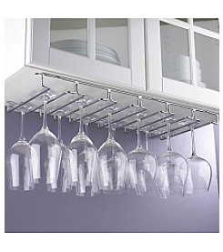 Wine Enthusiast Large Under Cabinet Stemware Rack