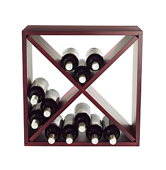 Wine Enthusiast 24-Bottle Wine Rack
