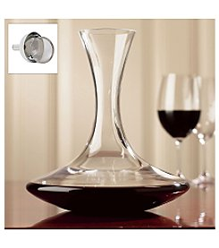 Wine Enthusiast Vivid Wine Decanter & Aerating Funnel Set