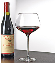 Wine Enthusiast Fusion Infinity Set of 4 Pinot Noir Wine Glasses