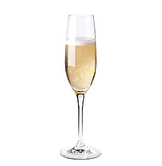 Wine Enthusiast Fusion Set of 4 Classic Champagne Flutes