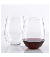 Wine Enthusiast Set of 2 U Cabernet Wine Tumblers