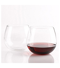 Wine Enthusiast Set of 2 U Pinot Noir Wine Tumblers