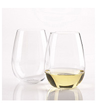 Wine Enthusiast Set of 2 U Chardonnay Wine Tumblers