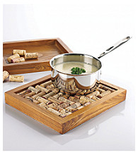 Wine Enthusiast Wine Cork Trivet Kit