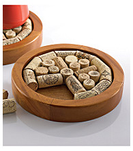 Wine Enthusiast Round Wine Cork Trivet Kit