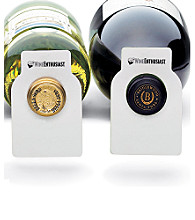 Wine Enthusiast 100 Reusable Wine Bottle Tags