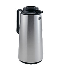 Zojirushi Brushed Stainless Thermal Carafe Brew Thru Lid