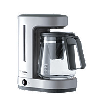 ZUTTO® Coffee Maker 5-Cup - Silver