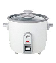 Zojirushi Rice Cooker/Steamer 0.6 Liter - White