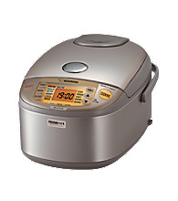 Zojirushi Induction Heating Pressure Rice Cooker & Warmer - Stainless Brown