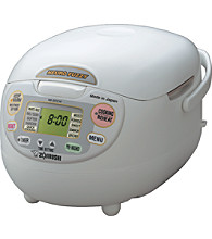 Zojirushi Neuro Fuzzy Rice Cooker & Warmer - Premium White