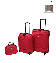 IT Luggage Ultra Light Spinner Ion Red Luggage