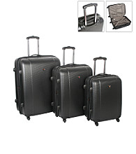 IT Luggage Ultra Light Augusta Black Spinner Luggage