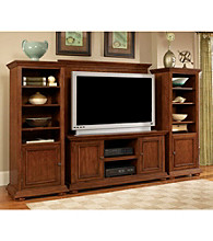 Home Styles® Homestead 4-piece Entertainment Unit