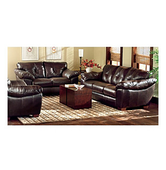 Interior Design Chateau D 39 Ax Salerno Brown Leather Living Room Furniture Collection Cheap Price