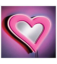 Lumisource® Pink Neon Heart Wall Mirror