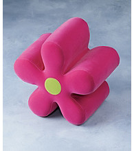 Lumisource® Pink Flower Ottoman