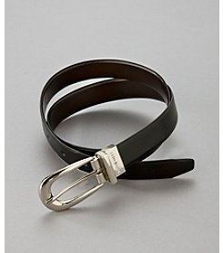 Nine West® Black/Brown Reversible Belt