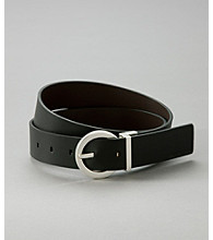 Calvin Klein Jeans® Reversible Belt - Black/Brown