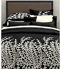 Branches Black Mini Duvet Set by City Scene™