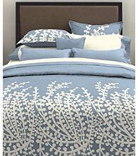 Branches French Blue Mini Duvet Set by City Scene™