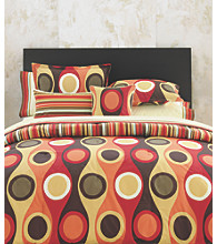 Retro Radar Red Mini Duvet Set by City Scene™