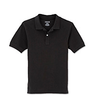 Izod® Boys' 4-20 Black Short Sleeve Polo