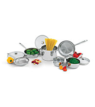 Wolfgang Puck® 10-pc. Stainless Steel Cookware Set