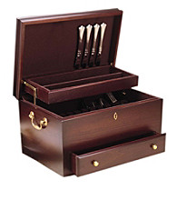 Reed & Barton® Charleston Mahogany Flatware Chest