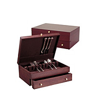 Reed & Barton® Mahogany 1-Drawer Flatware Chest