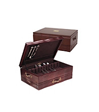 Reed & Barton® Provincial Mahogany Flatware Chest