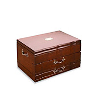 Reed & Barton® Provincial Mahogany 2-Drawer Flatware Chest