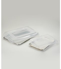 Nordic Ware® 4-pc. Bakers Half and Quarter Sheet Combo Pack with Lids