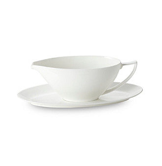 Jasper Conran White Bone China Gravy Boat