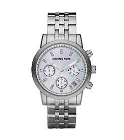 Michael Kors® Women's Ritz Watch - Silver