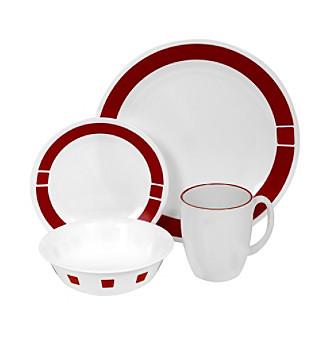 Corelle® Livingware 16-pc. Dinnerware Set - Urban Red