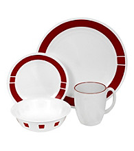 Corelle® Livingware 16-pc. Dinnerware Set - Urban Red