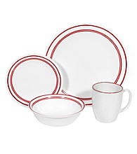 Corelle® Livingware Classic Café Red 16-pc. Dinnerware Set