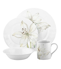 Corelle Impressions® White Flower 16-pc. Dinnerware Set
