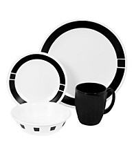 Corelle® Livingware 16-Piece Dinnerware Set - Urban Black