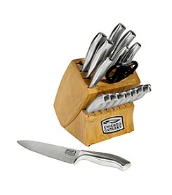 Chicago Cutlery® Insignia Steel 18-pc. Block Set with In Block Sharpener