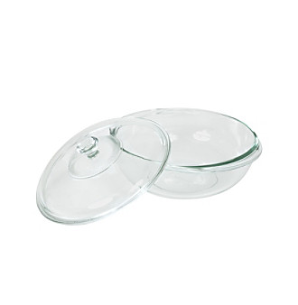 Pyrex® Bakeware 2-qt. Clear Glass Casserole Dish with Cover
