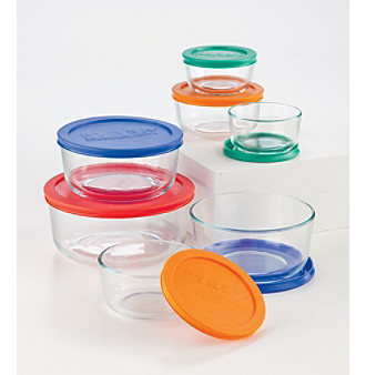 Pyrex 1081886 Storage 14 Pc. Container Set