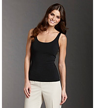 Anne Klein® Satin Trim Tank