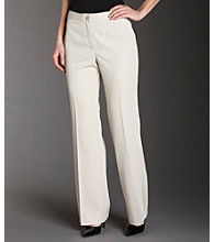 Anne Klein® Classic Pants - Heather Beechwood
