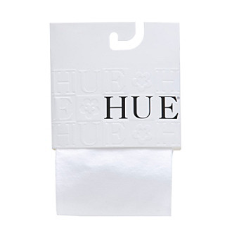 HUE® Girls' White Tights