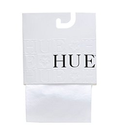 HUE® Girls' White Tights